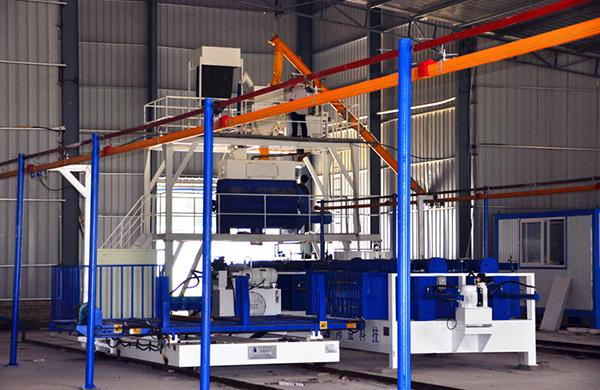 Horizontal Type EPS Light Weight Wall Panel Production Line